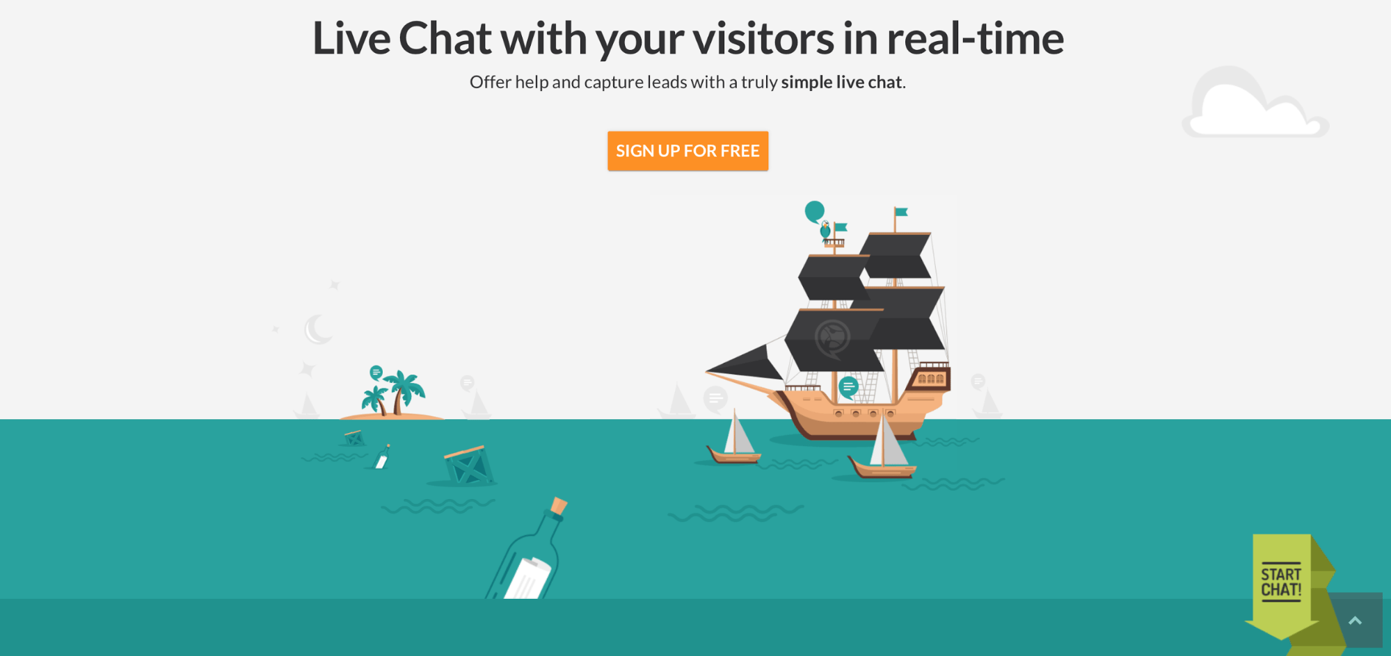 ChatPirate - homepage