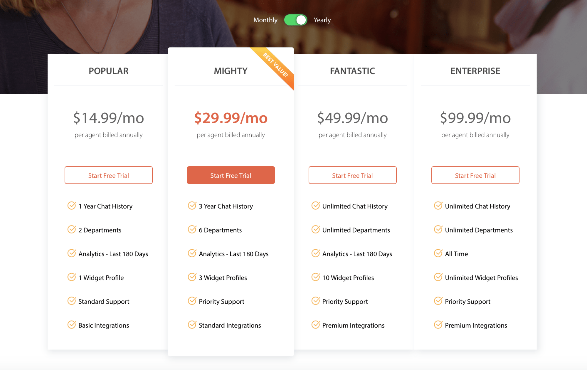 HappyFox Chat pricing