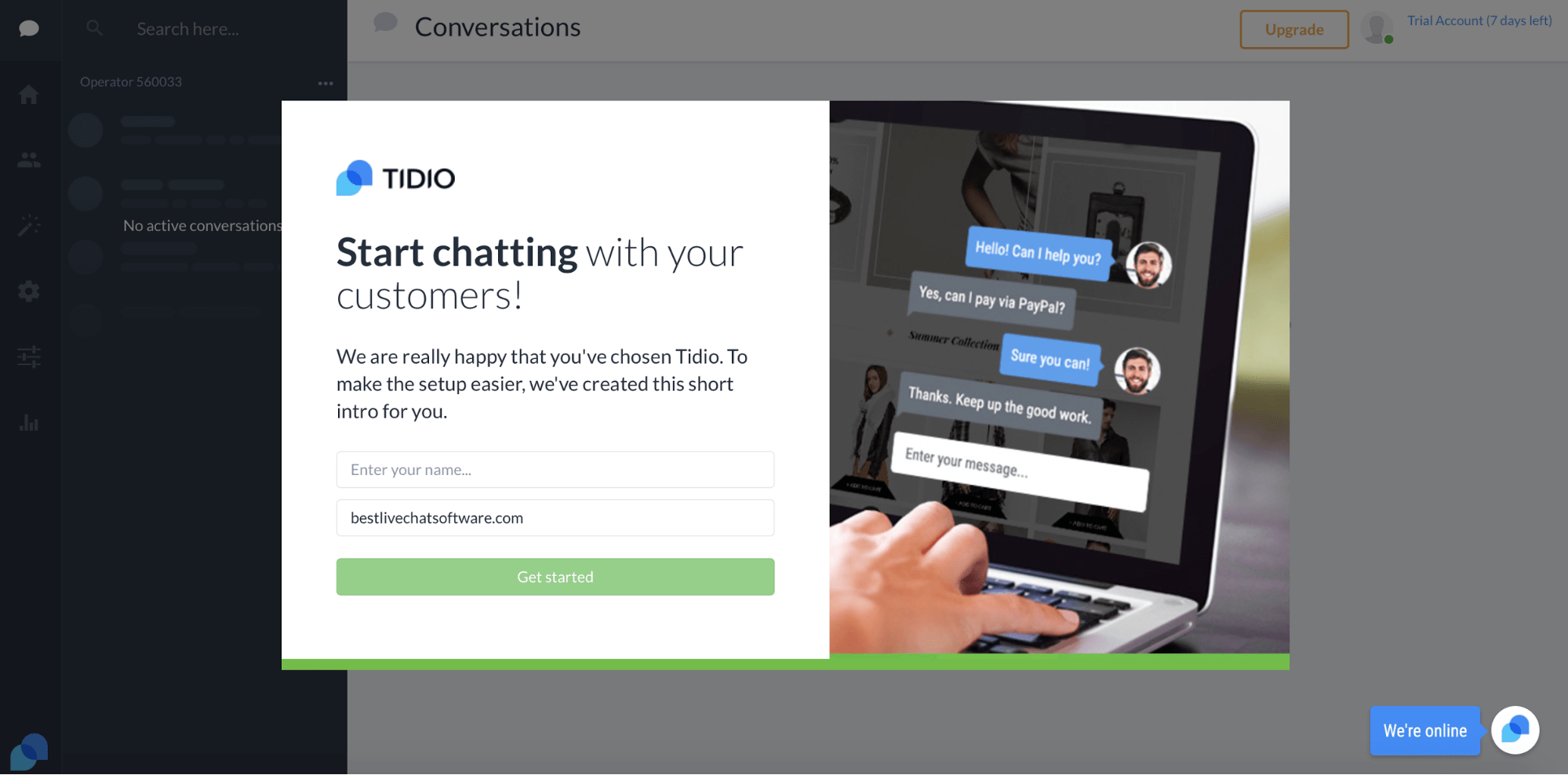 full review of tidio s live chat pros cons best live chat software rh bestlivechatsoftware com